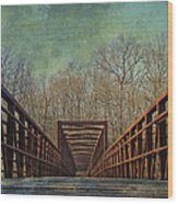 The Bridge To The Other Side Of Where? Wood Print