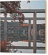 The Bridges At East Falls Wood Print