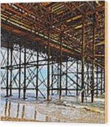 The Brighton Pier  Wood Print