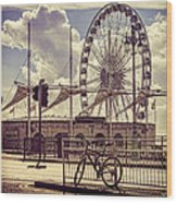 The Brighton Wheel Wood Print