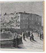 The British Embassy At St Wood Print