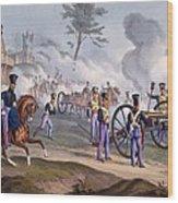 The British Royal Horse Artillery - Wood Print by English School