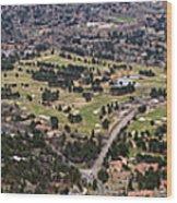 The Broadmoor Panoramic Wood Print