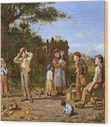The Broken Jar Wood Print by J O Banks