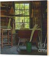 The Broom Room Wood Print