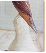 The Brown Bird Wood Print