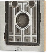 The Brownie Junior Six-20 Camera Wood Print