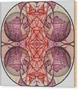 The Bubble Burst A Digitized Detail Wood Print