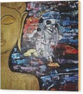 The Buddha Way Wood Print