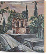 The Buen Retiro Park Wood Print