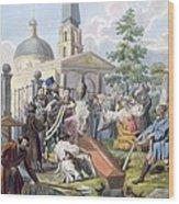 The Burial, 1812-13 Wood Print