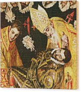The Burial Of Count Orgaz Wood Print