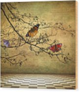The Butterfly Room Wood Print