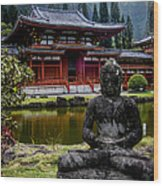 The Byodo-in Temple 1 Wood Print