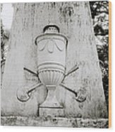 The Calcutta Cemetery Wood Print