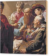 The Calling Of St Matthew  Wood Print