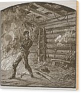 The Capture Of Booth, The Slayer Wood Print