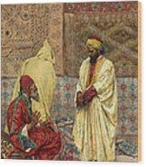 The Carpet Bazaar Wood Print