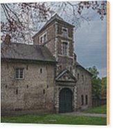 The Castle Of Vert-bois Bondues Wood Print