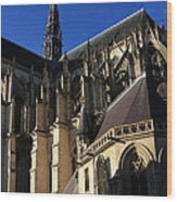 The Cathedral Basilica -  Amiens - France Wood Print