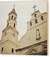 The Cathedral Basilica Wood Print