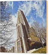 The Cathedral Of Learning 1 Wood Print