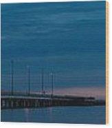 The Causeway Bridge Wood Print