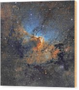 The Cave Nebula - Beauty In Space Wood Print