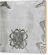 The Ceiling Design Wood Print