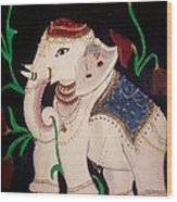 The Celestial Elephant Wood Print