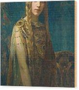 The Celtic Princess Wood Print