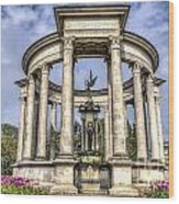 The Cenotaph Cardiff Wood Print