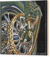 The Chain Wood Print