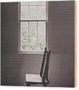 The Chair By The Window I Wood Print