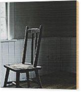 The Chair By The Window II Wood Print
