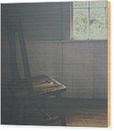 The Chair By The Window IIi Wood Print