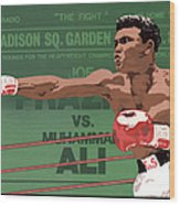 The Champ Wood Print by Anne Gifford