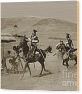 The Charge Of The Light Brigade 1936 Wood Print