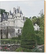 The Chateau's Towers View Wood Print