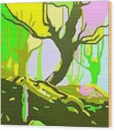 The Cherry Tree Wood Print