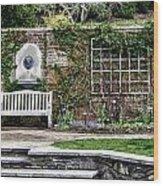 The Chicago Botanical Gardens-003 Wood Print