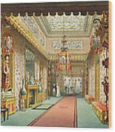 The Chinese Gallery, From Views Wood Print