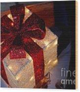 The Christmas Gift Wood Print