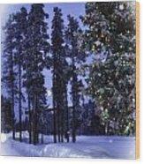 The Christmas Season Wood Print