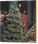 The Christmas Tree Of The Horatii Wood Print