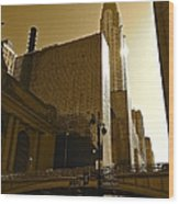 The Chrysler Building In Nyc Wood Print