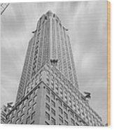 The Chrysler Building Wood Print by Mike McGlothlen