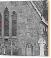 The Church 2 Wood Print