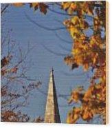 The Church In Goshen Wood Print