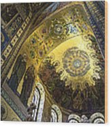 The Church Of Our Savior On Spilled Blood 2 - St. Petersburg - Russia Wood Print